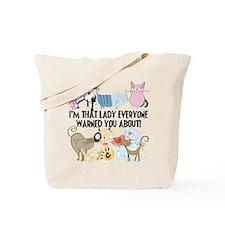 That Cat Lady Tote Bag
