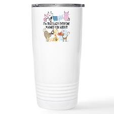 That Cat Lady Travel Mug
