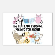 That Cat Lady Postcards (Package of 8)