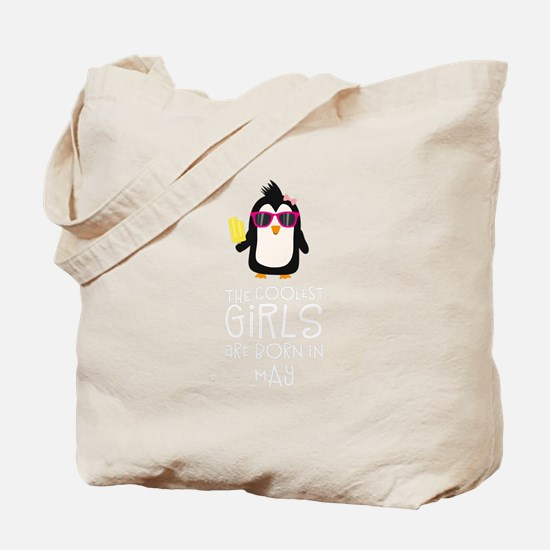 Coolest Girls Birthday in MAY Tote Bag