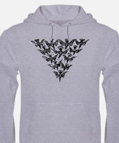 Unique A murder of crows Hoodie