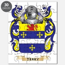 Terry (Ireland) Family Crest (Coat of Arms) Puzzle