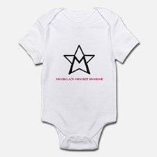 Funny Morgan horse Infant Bodysuit