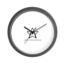 Cute Morgan horse Wall Clock