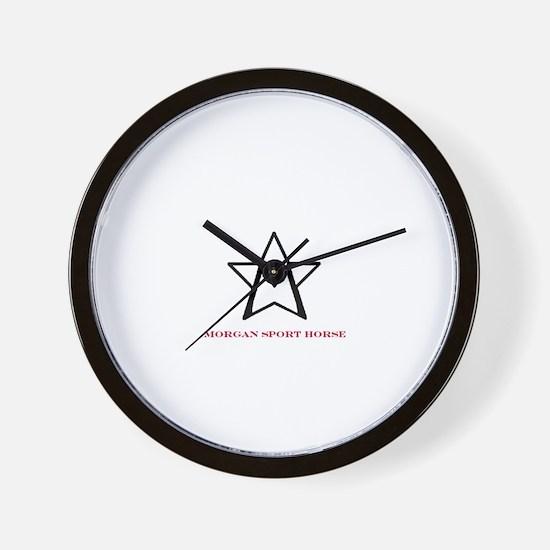 Cute Morgan horse Wall Clock