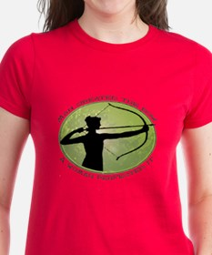 women's archery competition   Tee