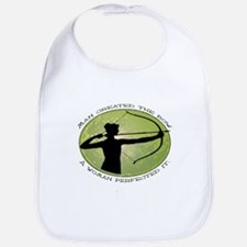 women's archery competition Bib