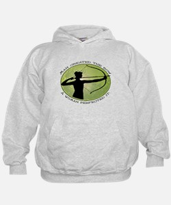 women's archery competition   Hoodie