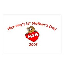 Mommy's 1st Mother's Day (Bear) Postcards (Package