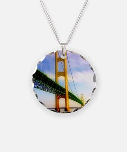 Mackinac Bridge Necklace