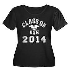 Class Of 2014 BSN Plus Size T-Shirt