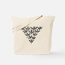 Cute A murder of crows Tote Bag