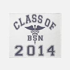 Class Of 2014 BSN Throw Blanket