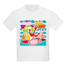 Patchwork Things in the Water T-Shirt
