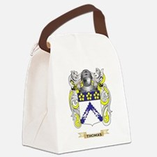 Thomas Family Crest (Coat of Arms Canvas Lunch Bag