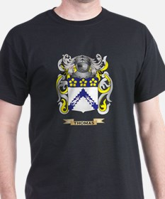Thomas Family Crest (Coat of Arms) T-Shirt