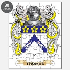 Thomas Family Crest (Coat of Arms) Puzzle