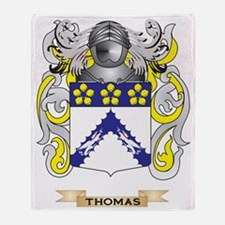 Thomas Family Crest (Coat of Arms) Throw Blanket