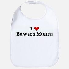 I Love Edward Mullen Bib