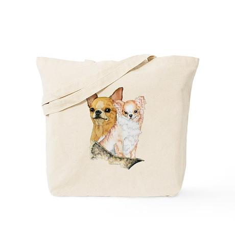 Chihuahua Pair Tote Bag