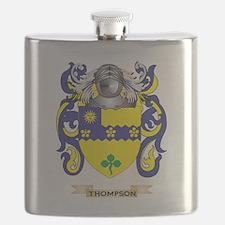 Thompson (Ireland) Family Crest (Coat of Arm Flask