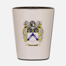 Thomsen Family Crest (Coat of Arms) Shot Glass