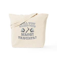 Will you Marry this MAORI TANGATA guy? Tote Bag