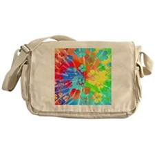 Tie Dyed Honu Messenger Bag
