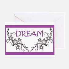 Dream In Purple Greeting Cards