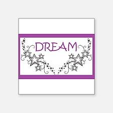 Dream in Purple Sticker