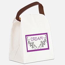 Dream in Purple Canvas Lunch Bag