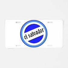 El Salvador Pride Aluminum License Plate
