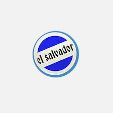 El Salvador Pride Mini Button
