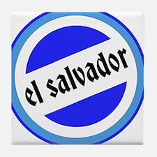 El Salvador Pride Tile Coaster