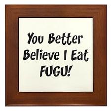 Fugu Framed Tile