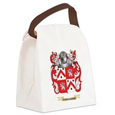 Thrasher Family Crest (Coat of Ar Canvas Lunch Bag