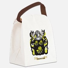 Thurston Family Crest (Coat of Ar Canvas Lunch Bag