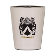 Tibby Family Crest (Coat of Arms) Shot Glass