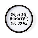 Cho Do Fu Wall Clock