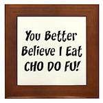 Cho Do Fu Framed Tile