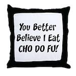Cho Do Fu Throw Pillow