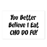 Cho Do Fu Postcards (Package of 8)