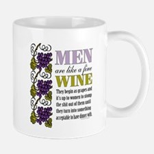 Men Like Fine Wine Mugs