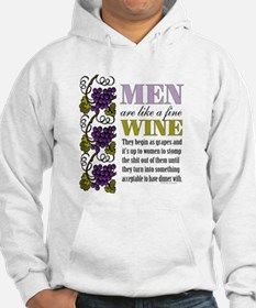 Men Like Fine Wine Hoodie