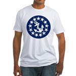 Stars and Anchor Fitted T-Shirt