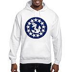 Stars and Anchor Hooded Sweatshirt