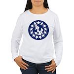 Stars and Anchor Women's Long Sleeve T-Shirt