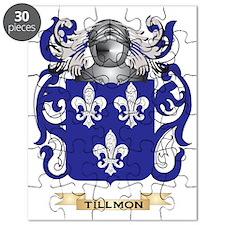 Tillmon Family Crest (Coat of Arms) Puzzle