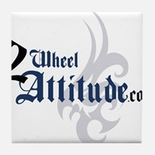 2 Wheel Attitude Tile Coaster