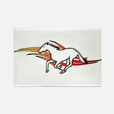 Tattoo Horse Rectangle Magnet